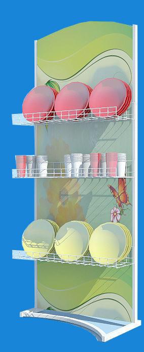 Стеллаж для посуды